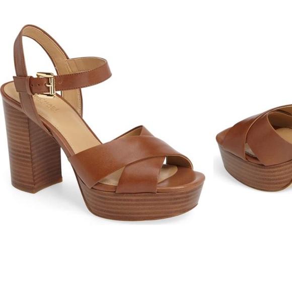 49143d0b120 Michael Michael Kors Divia Platform Sandal. M 5a7ca933a6e3ea19722e98f1